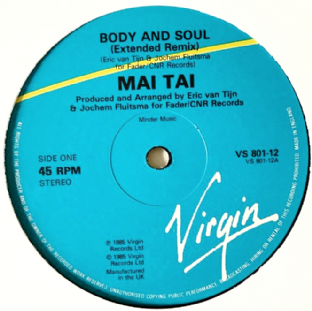 "Mai Tai - Body And Soul (12"") (G+/NM)"